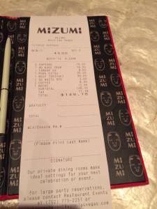 receipt example